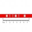 Светодиодная лента 30см 12V красный свет