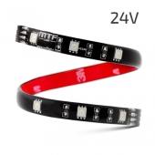 Светодиодная лента 30см 24V красный свет