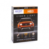 Светодиодные лампы НB3 Cyber Light 6000К Холодный Белый свет