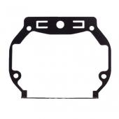 Переходные рамки №018 на Toyota Land Cruiser Prado IV (AFS) для установки модулей Hella 3R
