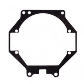 "Переходные рамки №056 на Toyota Camry XV40 для установки модулей Bi-LED 2.8"""