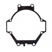 "Переходные рамки №059 на Mitsubishi Pajero IV для установки модулей Bi-LED 2.8"""