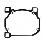 Переходные рамки №078 на Hyundai Sonata V (NF) для установки модулей Hella 3R