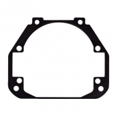 "Переходные рамки №107 на Mazda CX-5 I для установки модулей Bi-LED 2.8"""