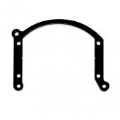 """Переходные рамки №207 на Mazda 6 I (GG) под Bi-LED 2.8"""" вместо штат. моно-ксенон. мод. Bosch AL 2.5"""""""