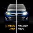 Комплект галогенных ламп HB3(9005) Argentum +130% 2шт.