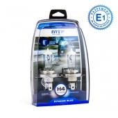 Комплект галогенных ламп H4 DYNAMIC BLUE