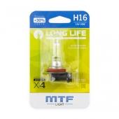 Лампа галогенная H16 штатная (OEM) блистер