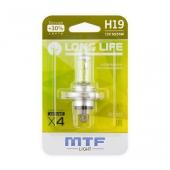 Лампа галогенная H19 штатная (OEM) блистер